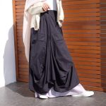 Double Layer Voile Cotton Skirt