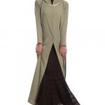 Flamenco City Skirt Dark Brown