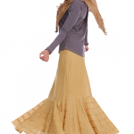 Flamenco City Skirt Cream